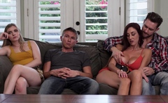 Swapped Stepsister And Bro Get Caught
