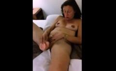 Granny Lactating Milky Tits Dildo Ass Licking Rim Job
