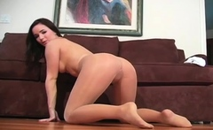 Exquisite girlie is fake penis her tight cave