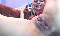 Cam Chick Smokes With Her Pussy on
