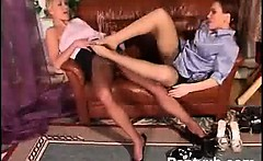 Hot Breasts Chick Pantyhose Hungry Porn